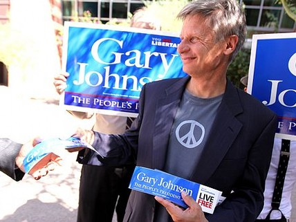 Military Members Are Into Gary Johnson, But NBC Won't Let Him Near Tonight's Forum