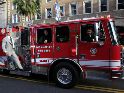 This Los Angeles Firefighter Has Been Banking Six-Figures in