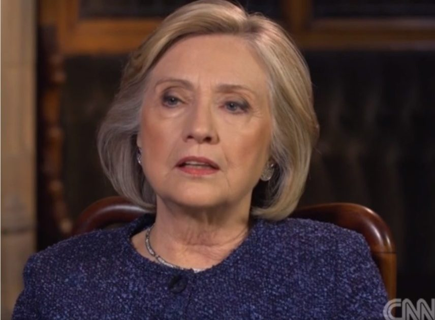 Hillary Clinton Says Democrats Can't Be Civil Until They're Back in Power