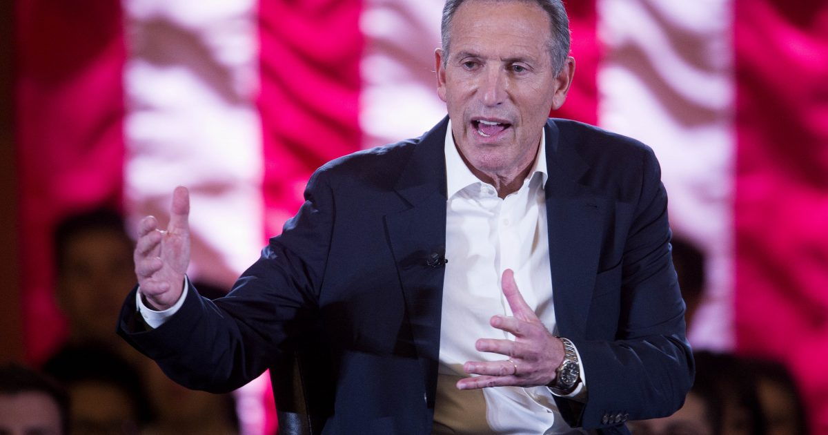 photo image Howard Schultz Puts Campaign in Sleep Mode