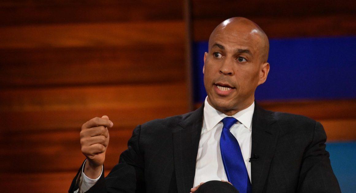 booker cory president debate commutations proposes drug thousands war biden democratic corybooker richard elected reason clash joe presidential