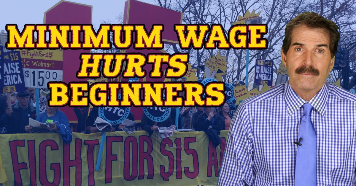 Stossel: Minimum Wage Hurts Beginners – Reason com