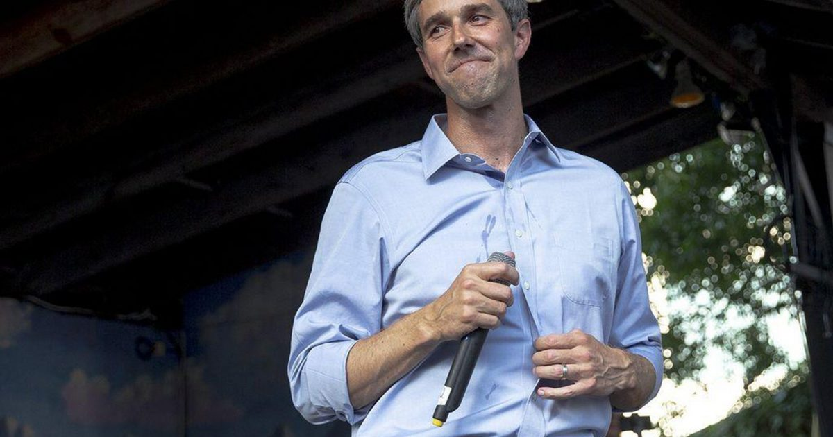 Beto O'Rourke Proposes Plan to Punish Tech Companies for Failing to Censor Hate Speech