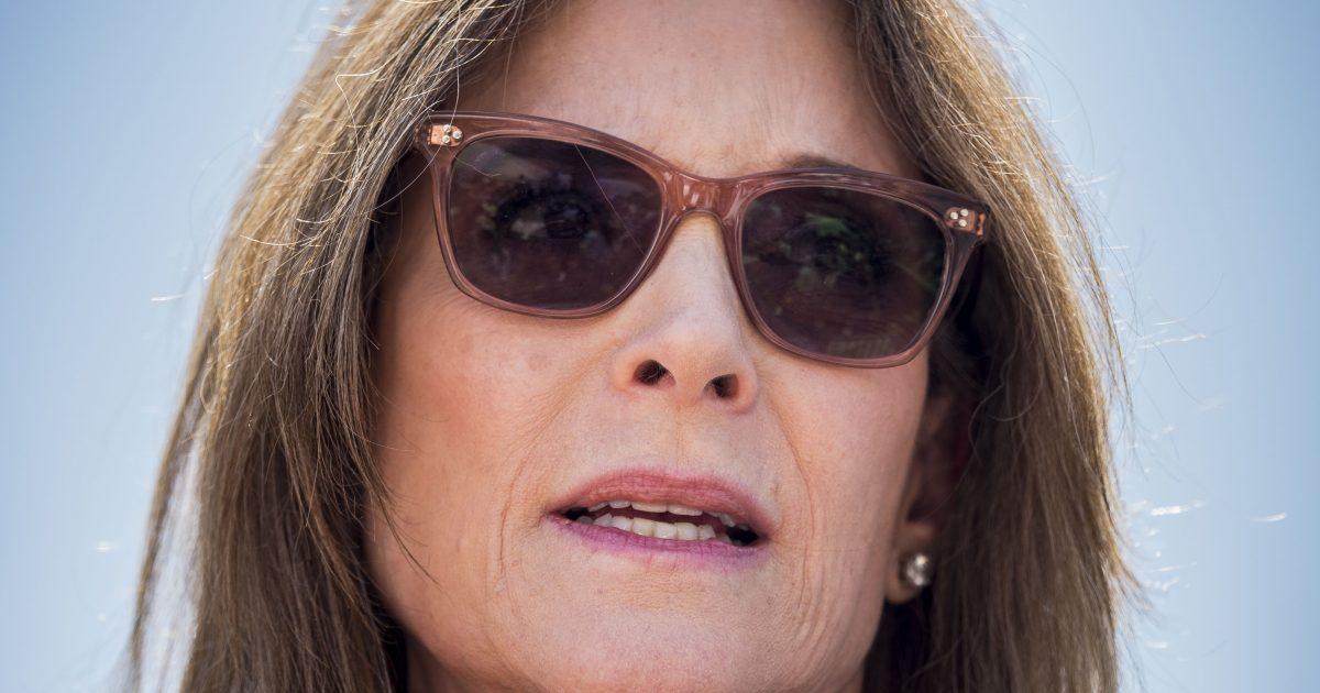 Marianne Williamson Wants To Defeat Dark Psychic Forces With New Department of Peace