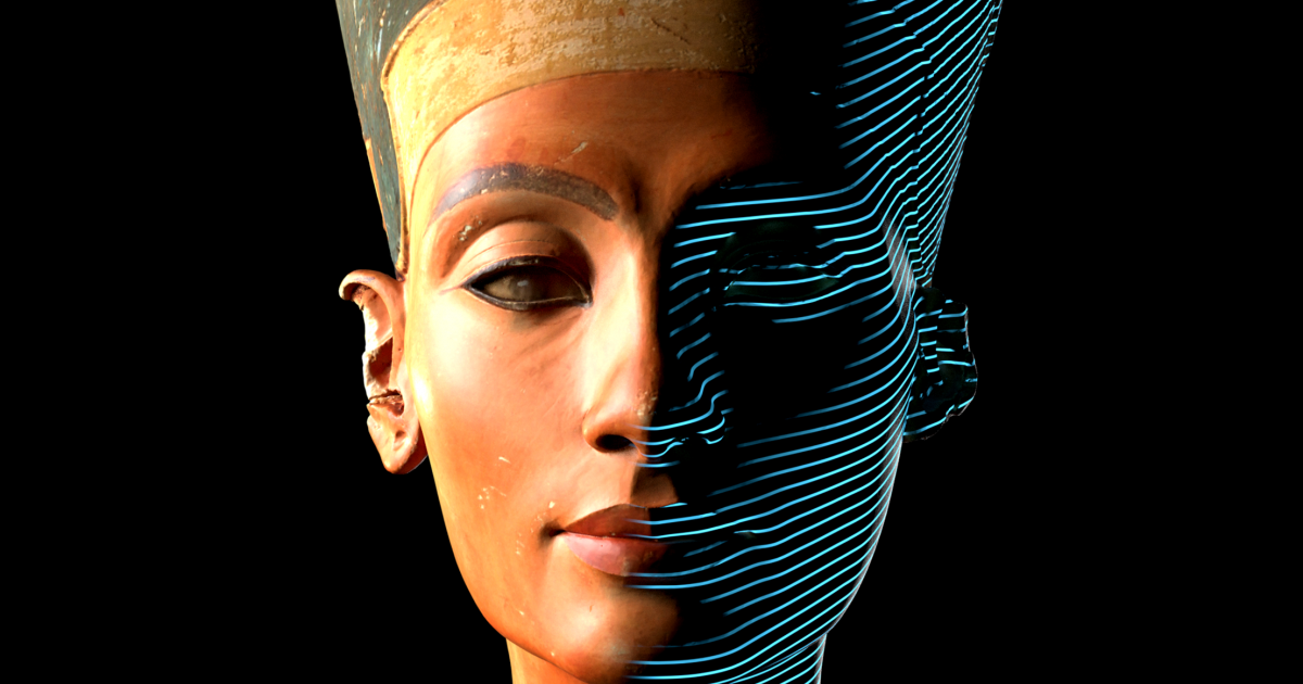 A German Museum Tried To Hide This Stunning 3D Scan of an Iconic Egyptian Artifact. Today You Can See It for the First Time