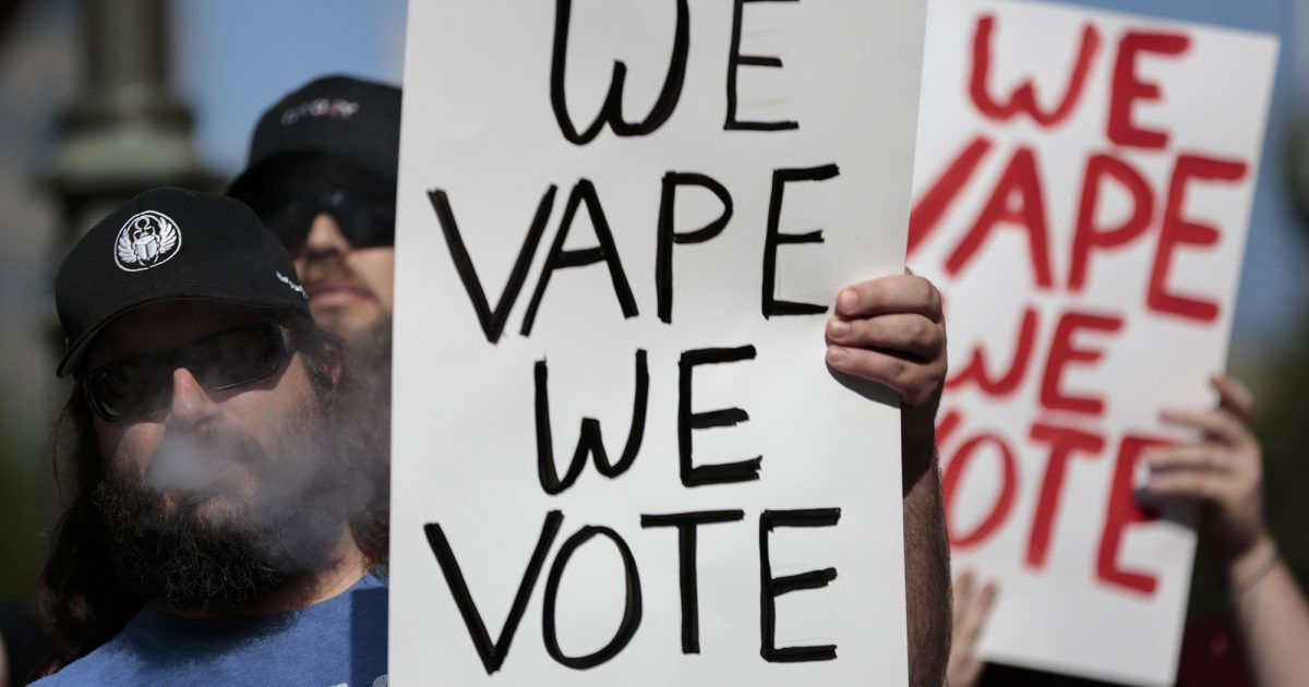 Vape Shops May Be Excluded From Ban on Flavored Vaping Products