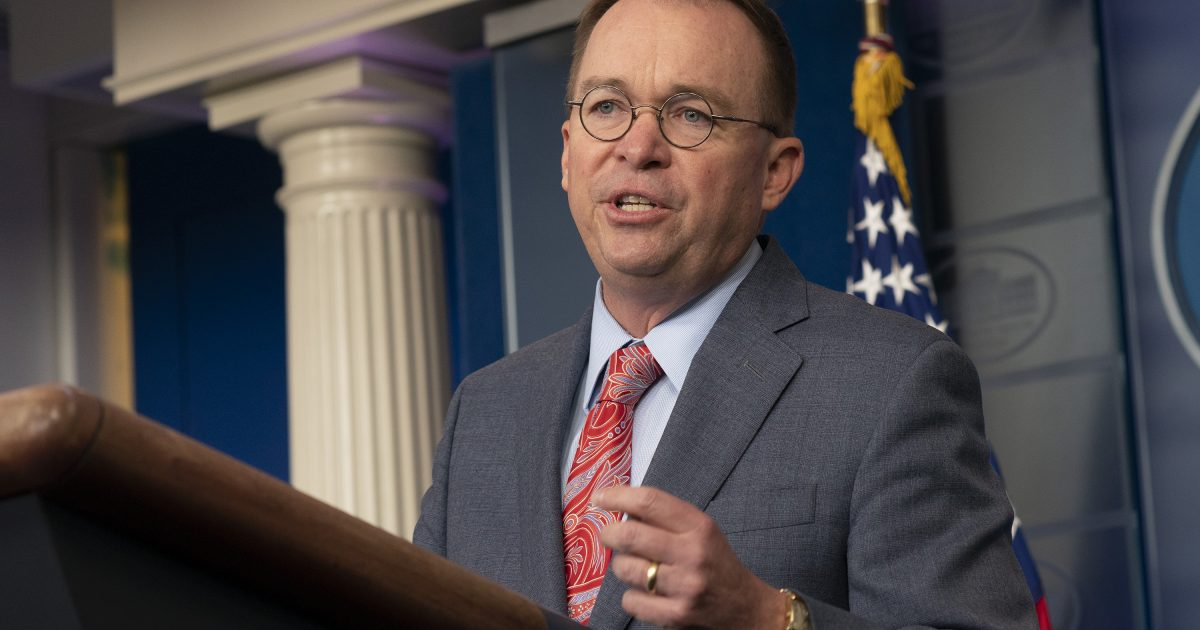 Mick Mulvaney Wants A Federal Judge To Tell Him If He Has To Testify Before Congress Reason Com