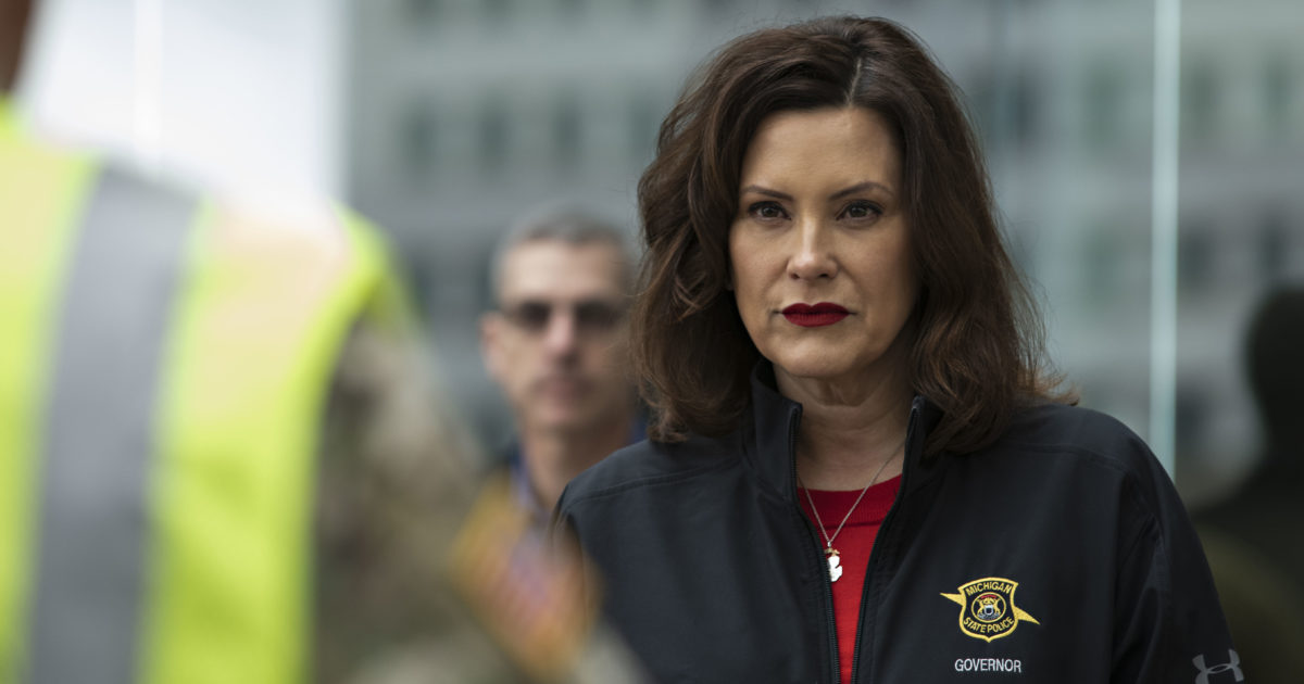 Michigan Gov Gretchen Whitmer Provides A Lesson In What States Shouldn T Do To Stop A Pandemic Reason Com