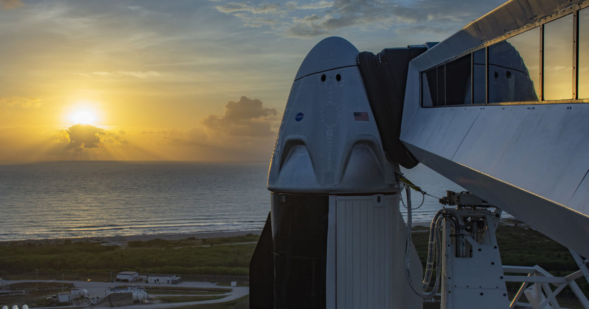 NASA Astronauts Hitch a Ride With Elon Musk's SpaceX