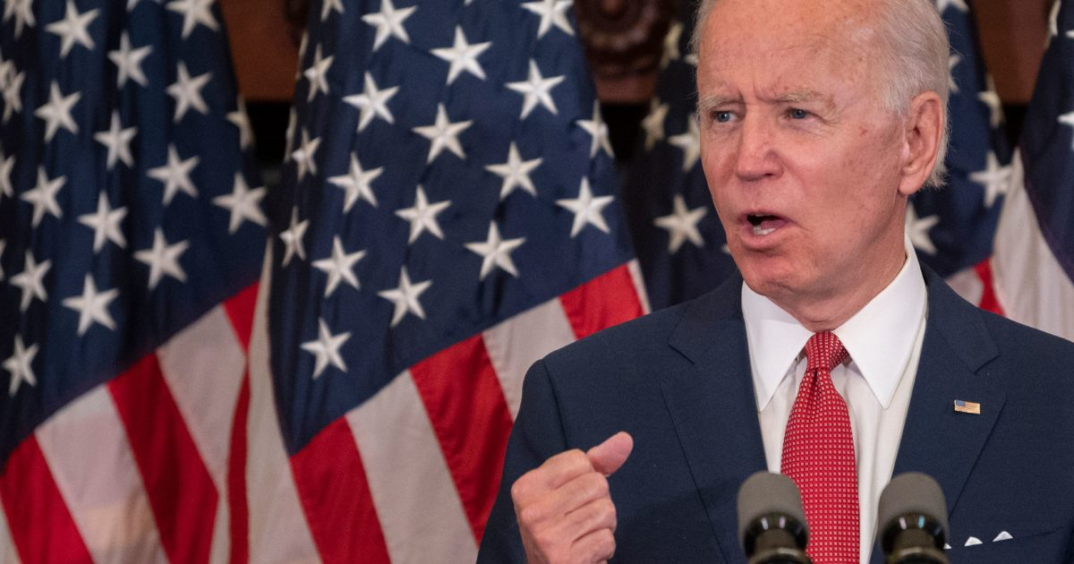 Joe Biden Basically Admits Libertarians Were Right All Along: Cops Shouldn't Have Military Gear