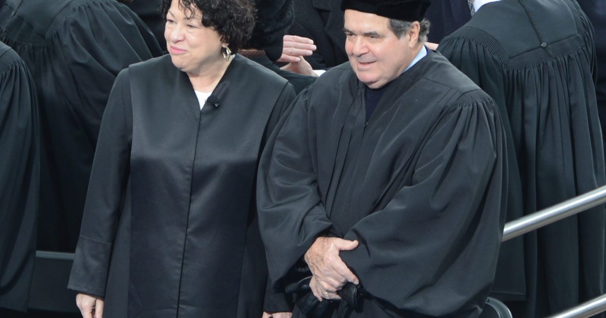 Invoking Scalia, Sotomayor Presses for Broad Fourth Amendment Protections