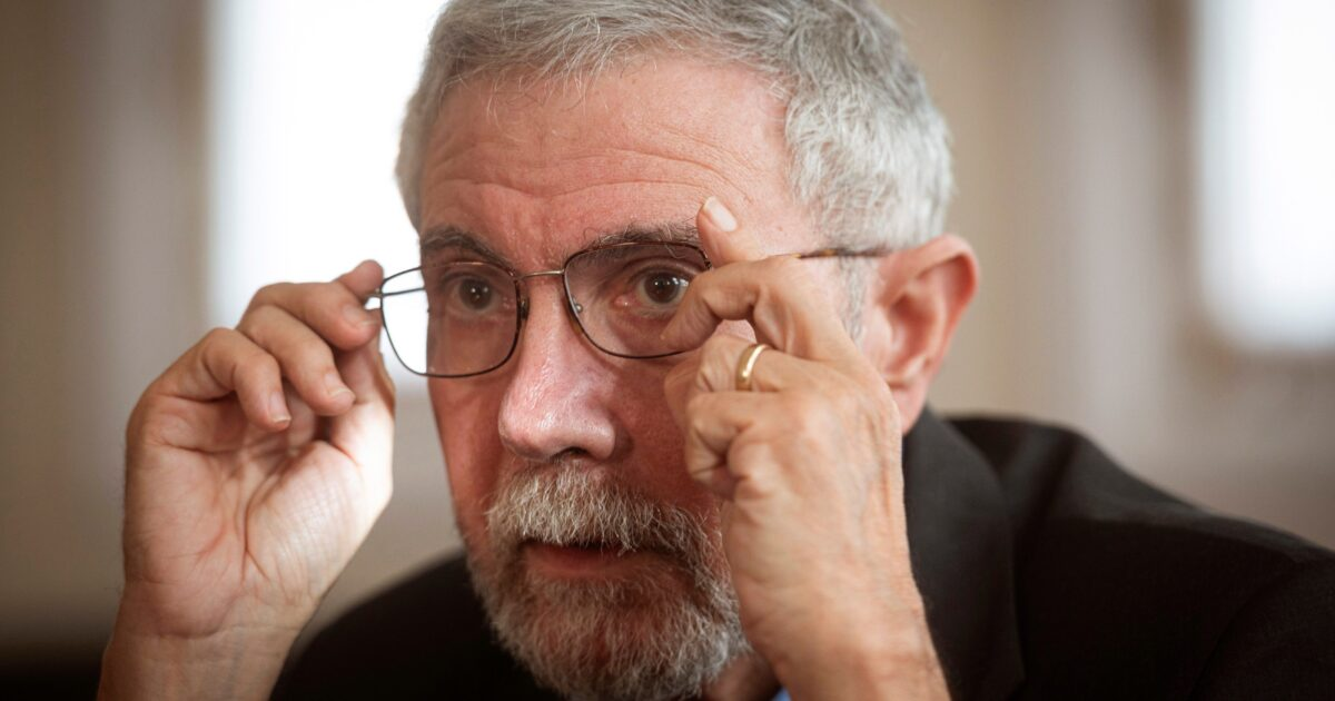 Paul Krugman Thinks Holding Religious Services During the COVID-19 Pandemic Is Like 'Dumping Neurotoxins Into Public Reservoirs'