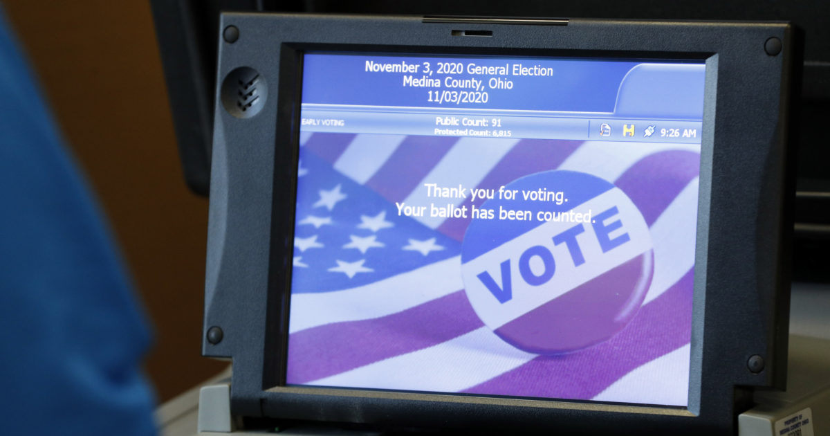 Don't Buy the Debunked Dominion Voting Machine Conspiracy Theory
