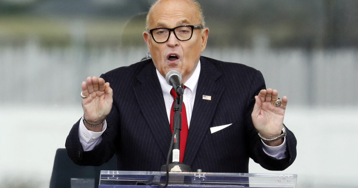 Surely Rudy Giuliani's 'Conclusive Proof' of Machine-Based Election Fraud Will Save Him From Dominion's $1.3 Billion Defamation Lawsuit