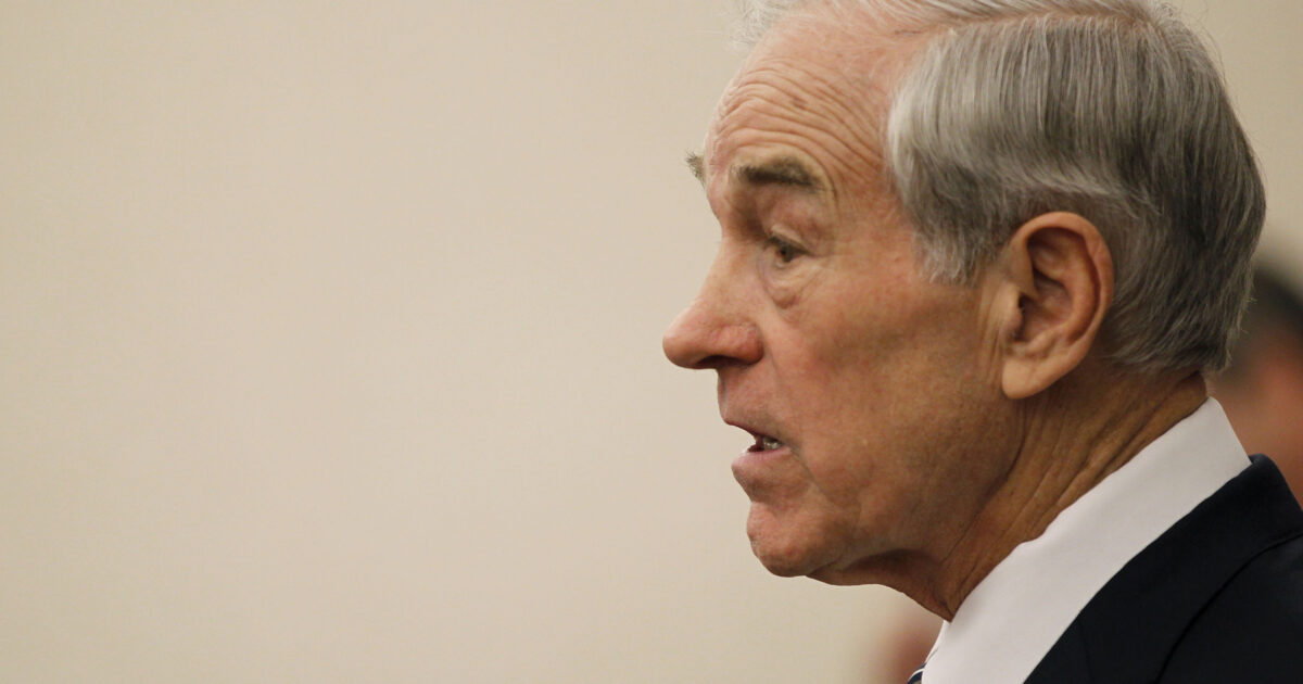 Ron Paul Says He's Been Locked Out of Facebook