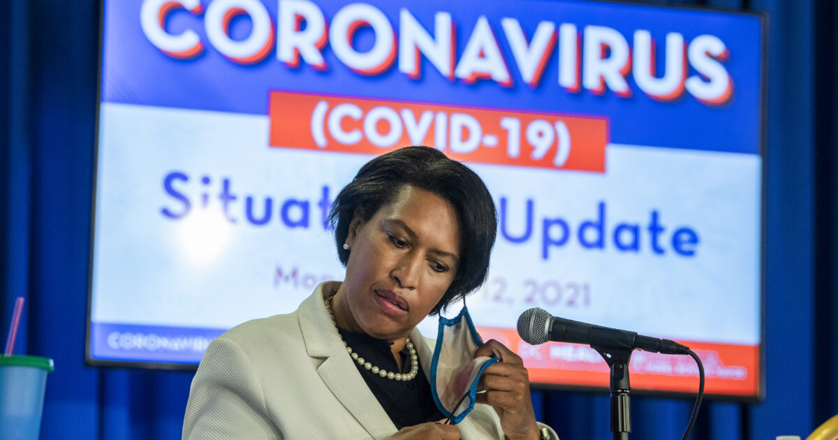DC Mayor Muriel Bowser celebrated without a mask a few hours before the new term took effect – Reason.com0