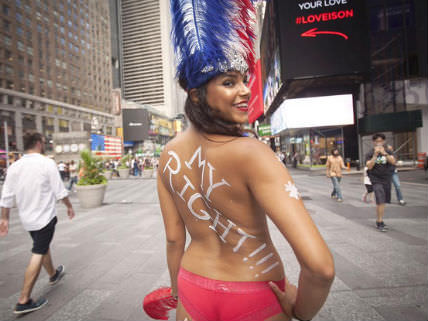New York State Cracking Down on Times Square Topless Women - Hit & Run : Reason.com