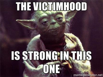 VictimhoodYoda