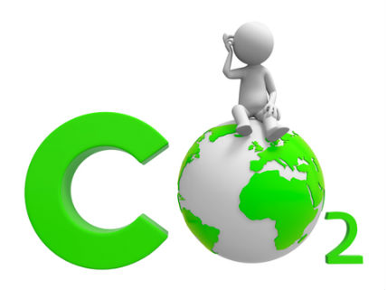 CO2GlobeAbluecupDreamstime