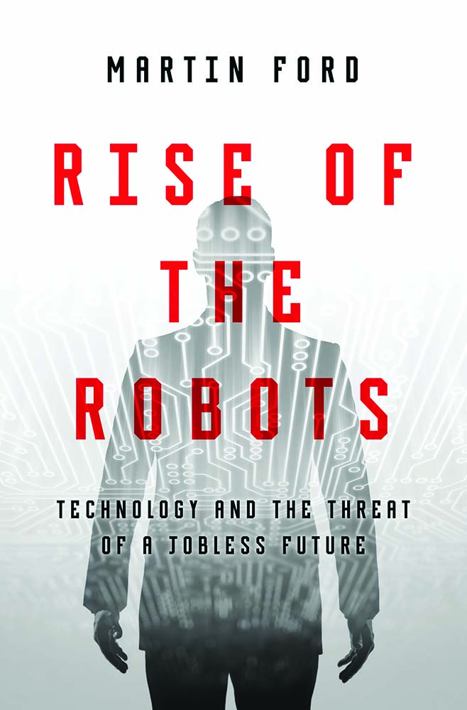 Resultat d'imatges de rise of the robots by Martin Ford