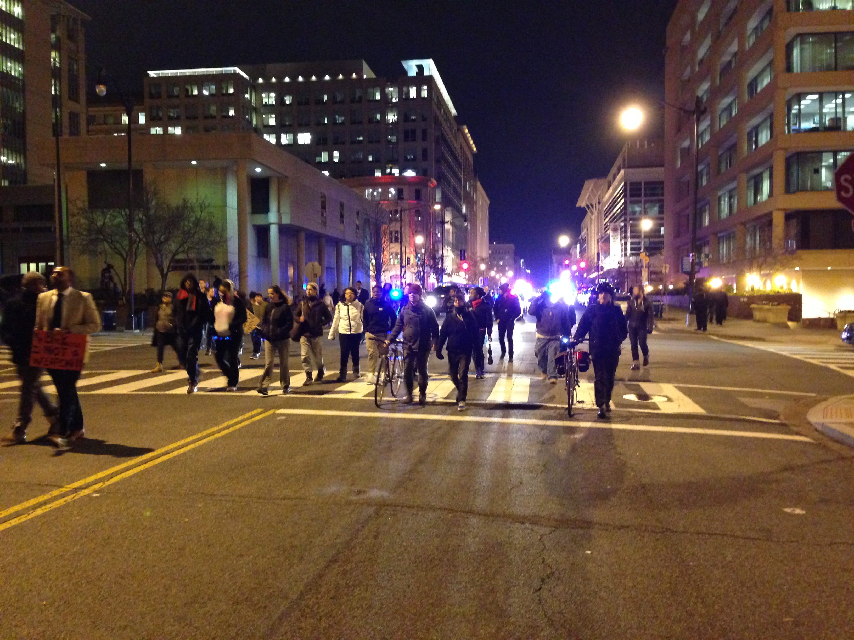 #DCFerguson marches through Washington, D.C.