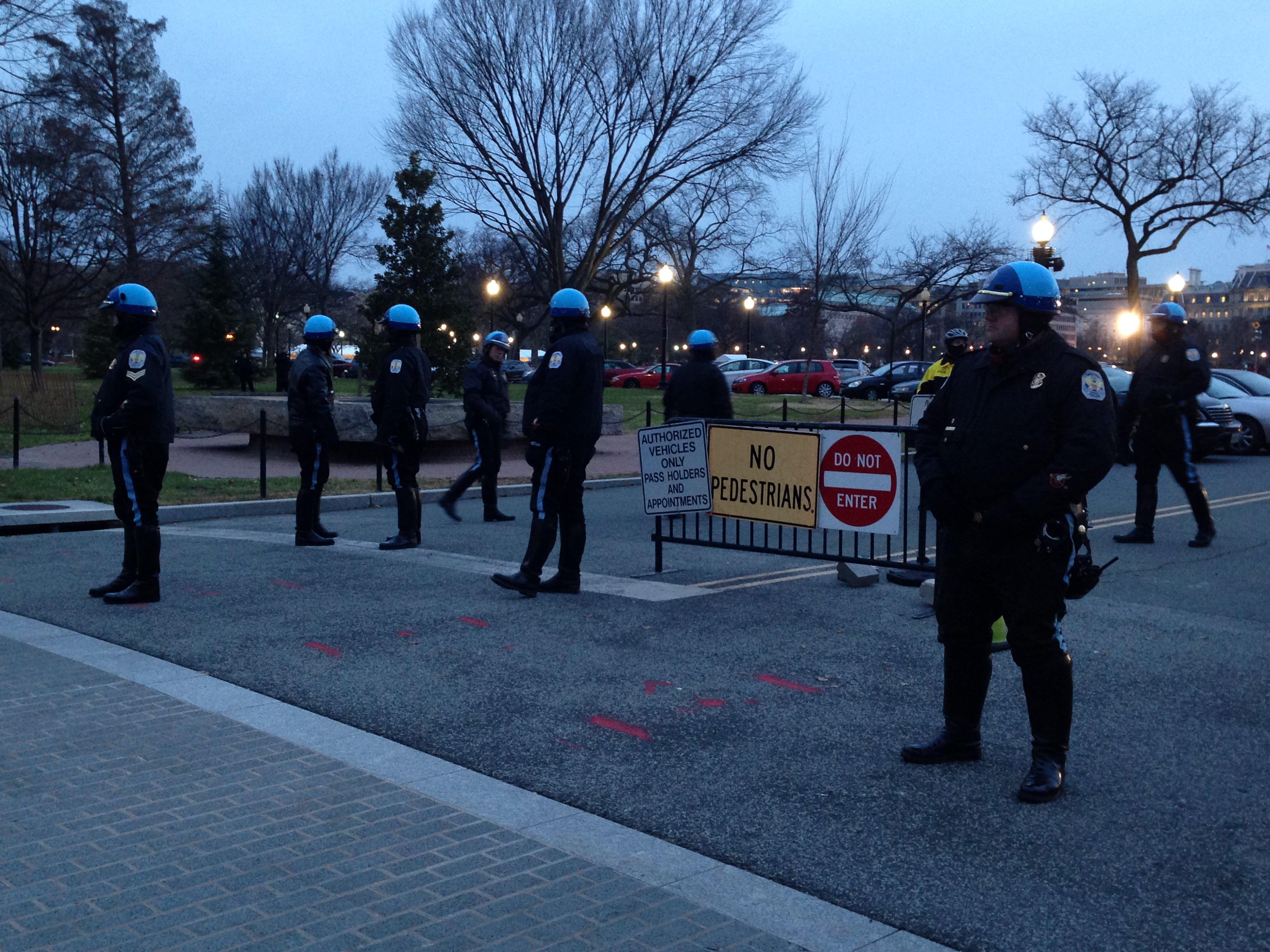 #DCFerguson protesters near the White House