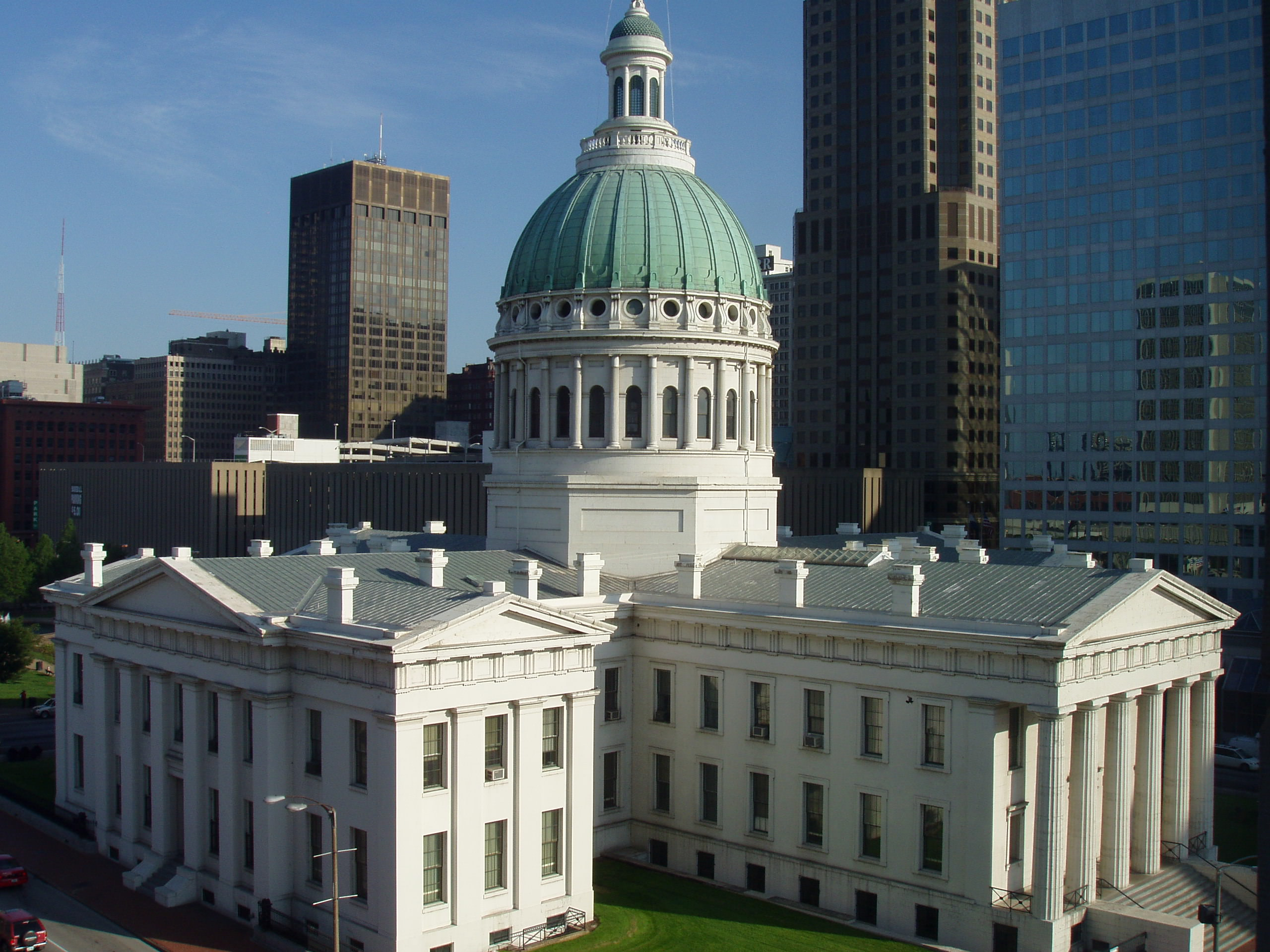 St. Louis County Old Courthouse