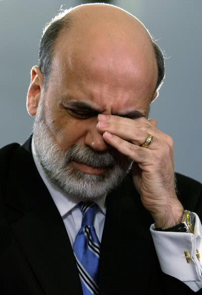 You say Ben Bernanke is unfeeling? Just look at the man!
