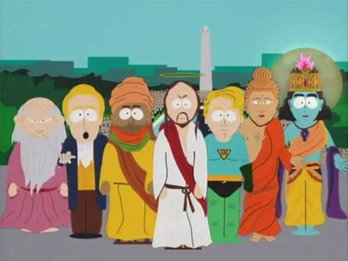 Prophet Muhammed, South Park, super best friends