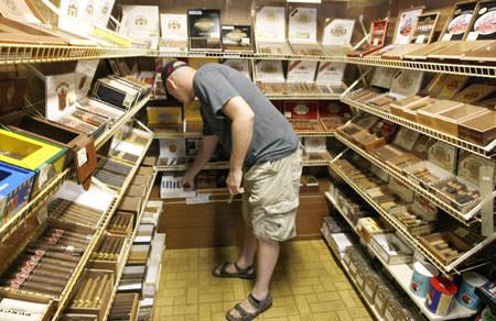European cigarette pack