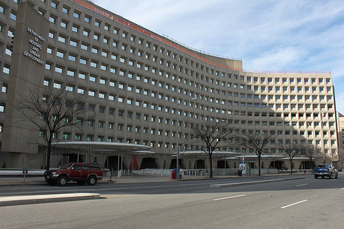 The HUD Building Downtown Washington DC Example 2