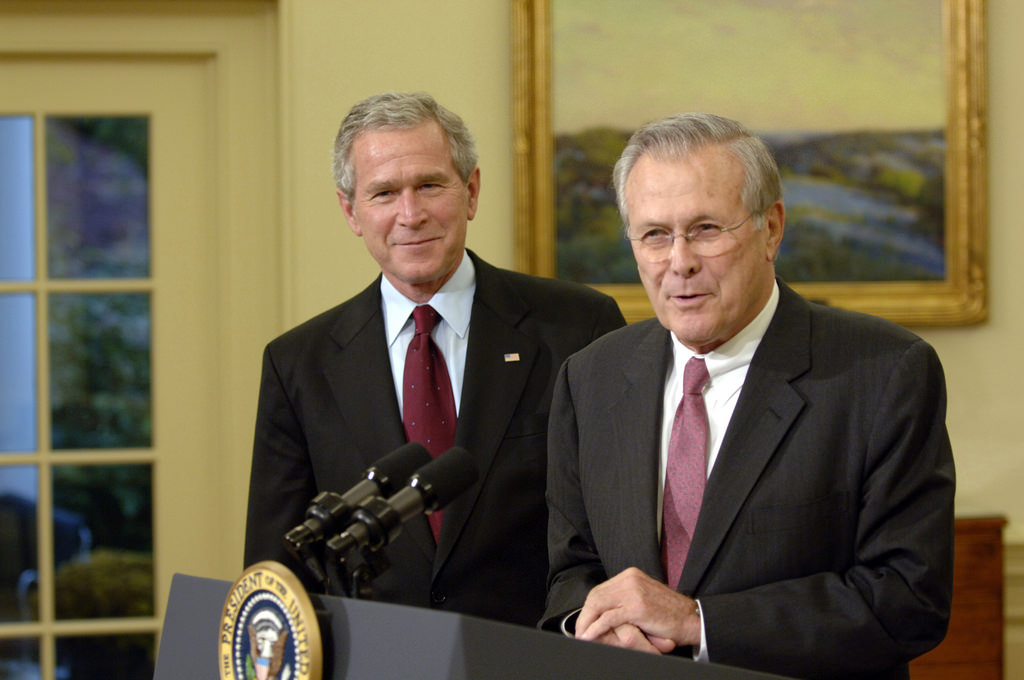 a study of intervention during the bush administration Complicated by the bush administration's exaggeration of the imminence and magnitude of the security threat that iraq posed the administration's public warnings of a.