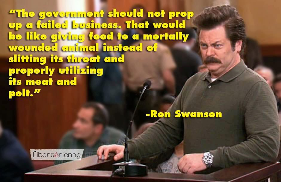 Beautiful Parks And Rec Quotes  Parks And Recreation Ron Swanson Quotes