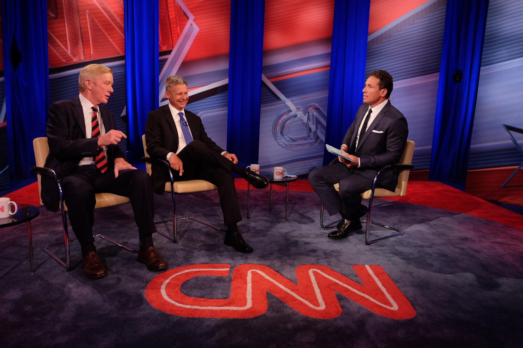 CNN Libertarian Town Hall ||| CNN