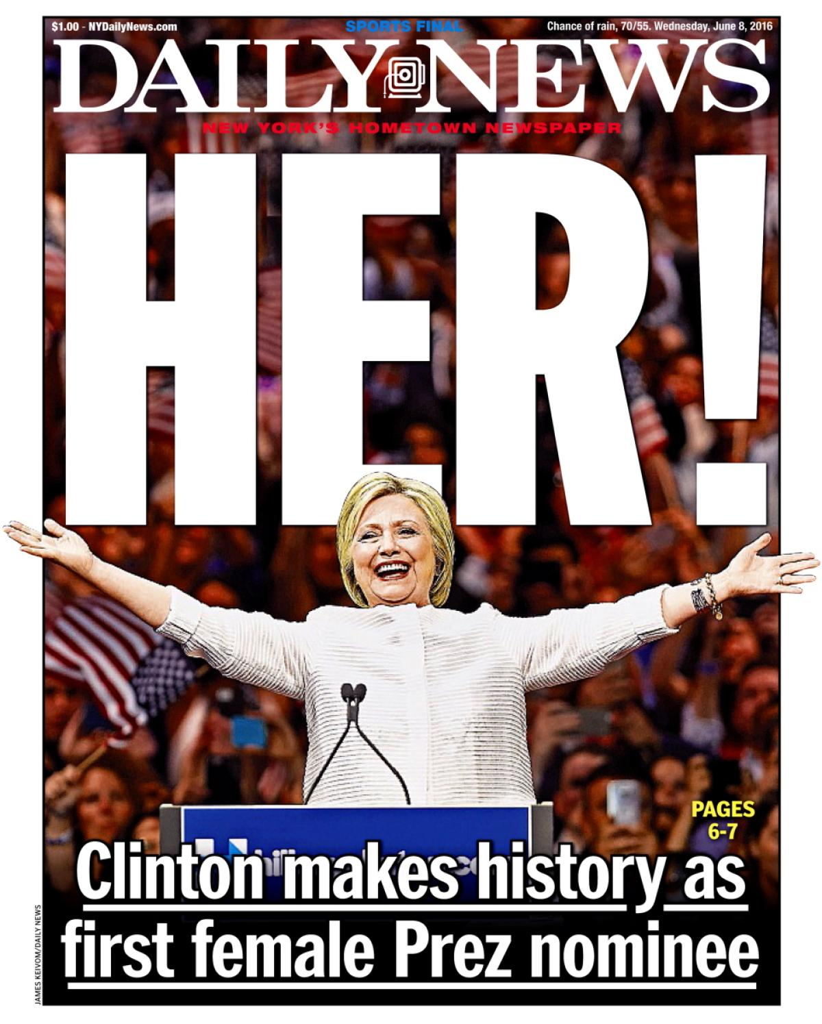 hillary clinton first woman to run But hillary clinton would hardly be the first woman to run the show for that, she is about nine decades behind the times the fascinating old story surfaces for two reasons.