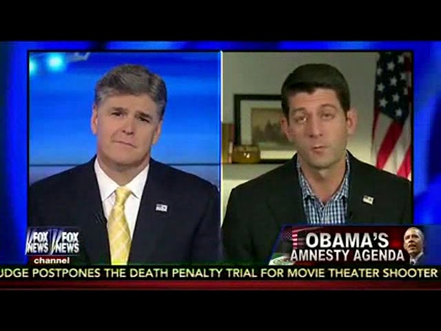 There's always a Hannity interview. ||| Fox News