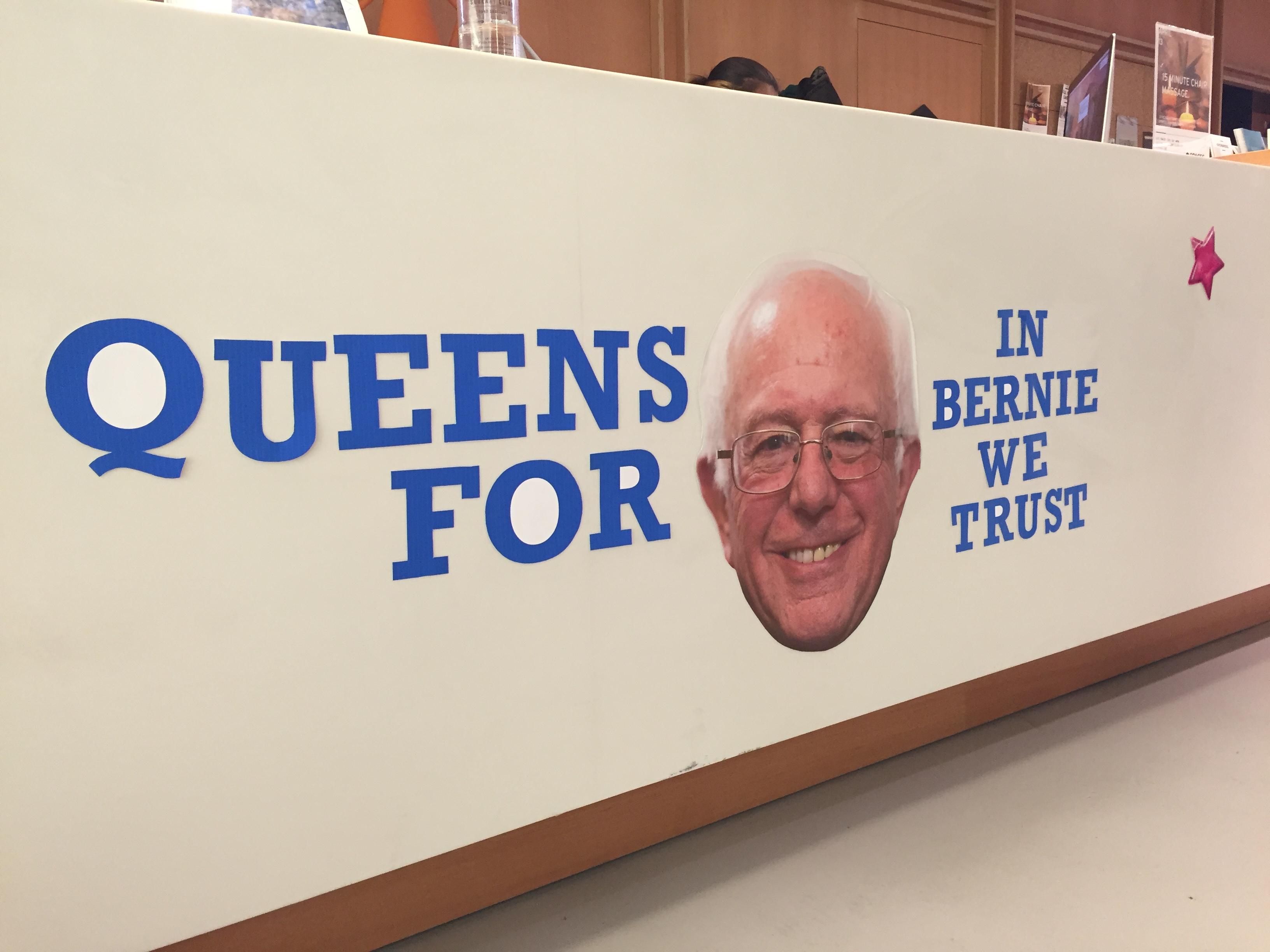 Queens is Berning.