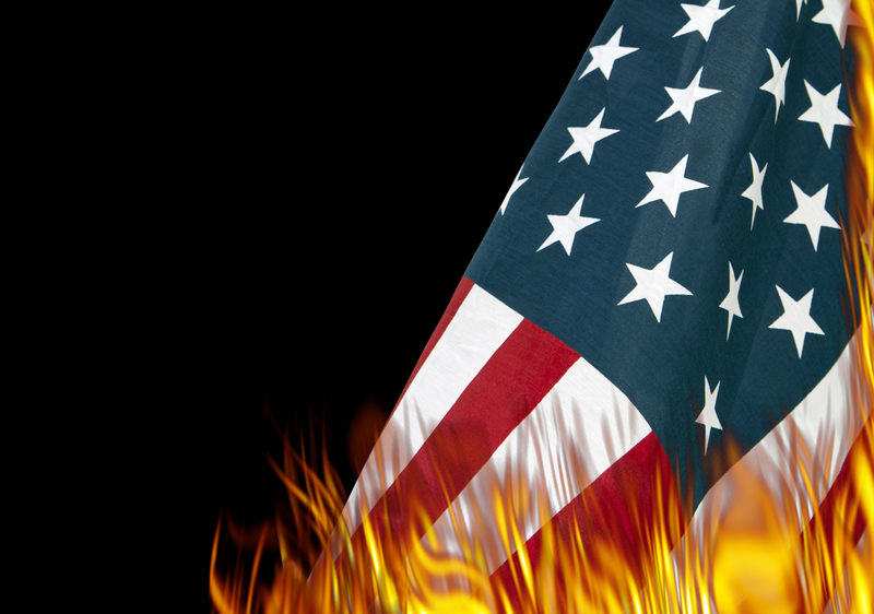 an argument of burning the flag of the united states Debate about is burning the american flag as an act of protest acceptable  is burning the american flag as an  any flag of the united states shall be.