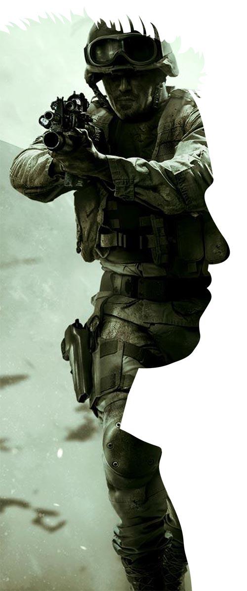 Joanna Andreasson (photo: Call of Duty, EA Games)