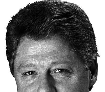 Bill Clinton. Public domain.