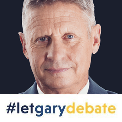 Gary Johnson Facebook