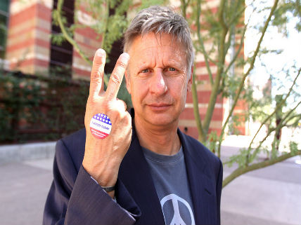 Gary Johnson Hits Hollywood, Predicts a Big Future for the Libertarian Party