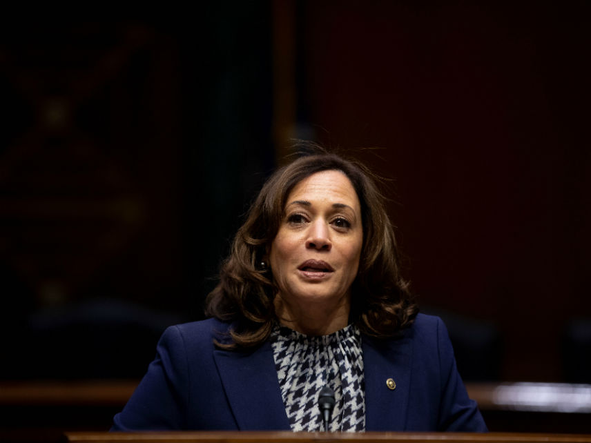 Kamala Harris New Book Tries To Massage Her Record As A Prosecutor But The Facts Aren T Pretty Reason Com
