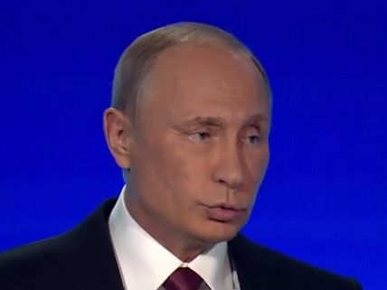 Putin Responds to Claim Russia Trying to Influence U.S. Election