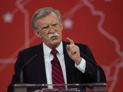 Five Horrifically Bad Foreign Policy Ideas That Should Disqualify John Bolton From Being Secretary Of State Reason Com