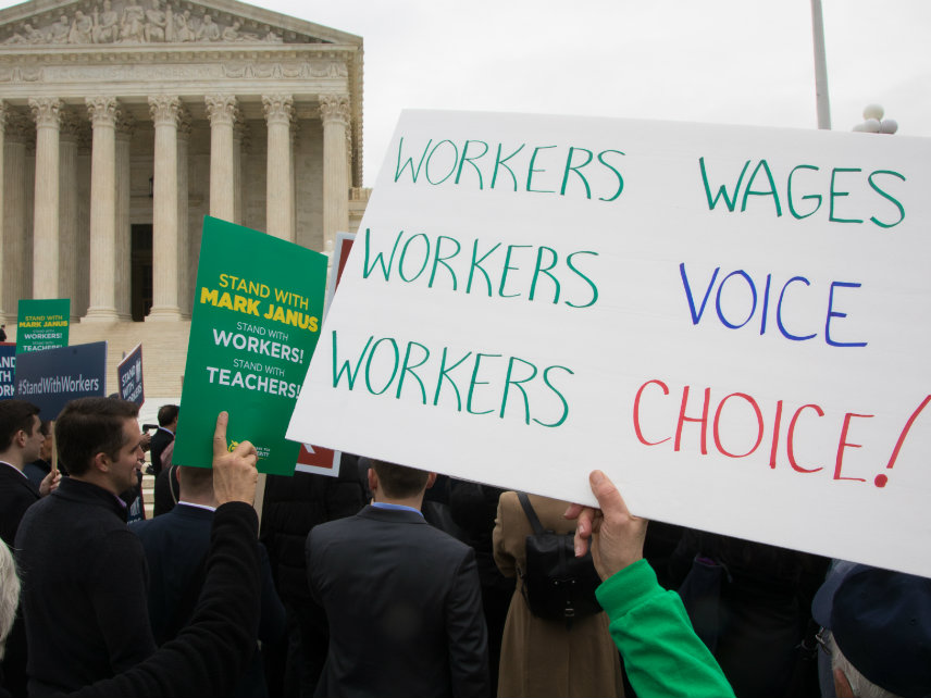 After the Supreme Court Said Unions Can't Force Non-Members