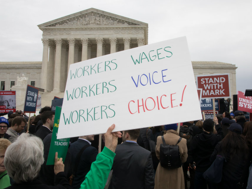 Mandatory Union Dues Violate Workers' First Amendment Rights