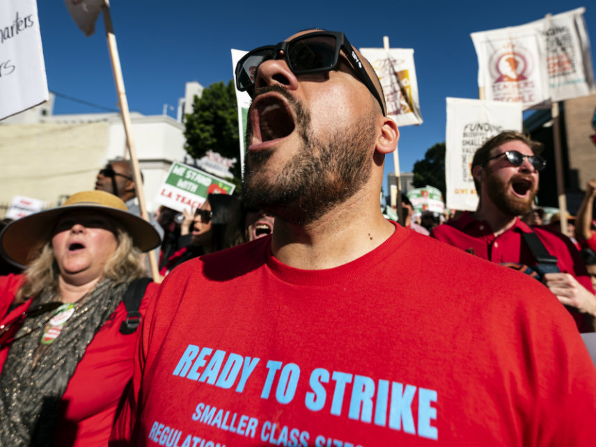 e0a40f063d6 L.A. Teachers to Strike After Rejecting Offered Pay Raise – Reason.com