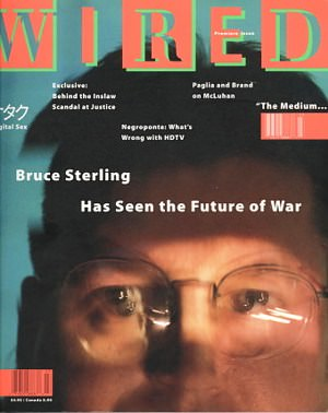 The first issue of Wired magazine, January, 1993. |||