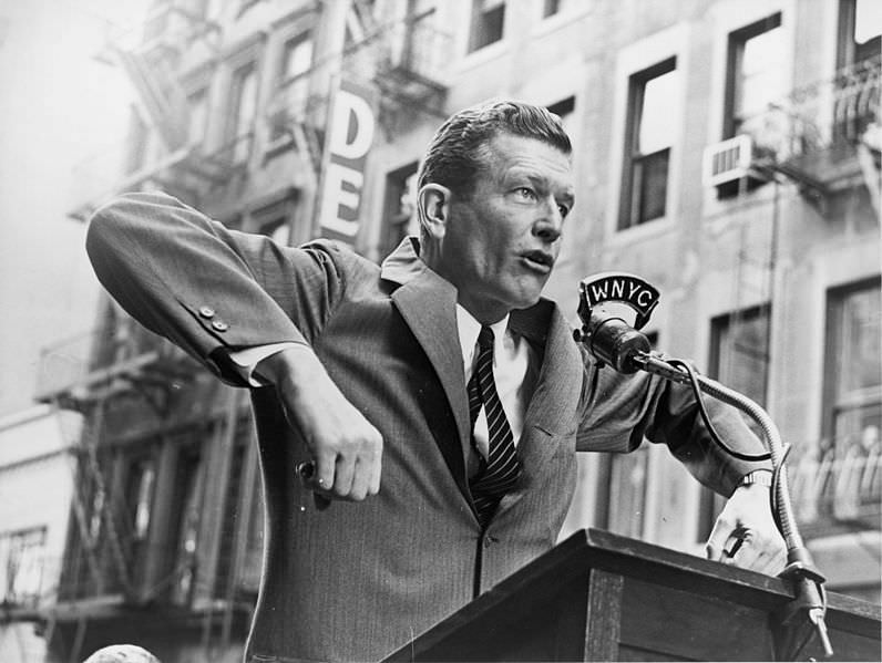 New York City Mayor John Lindsay |||